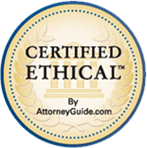Certified Ethical By AttorneyGuide.com